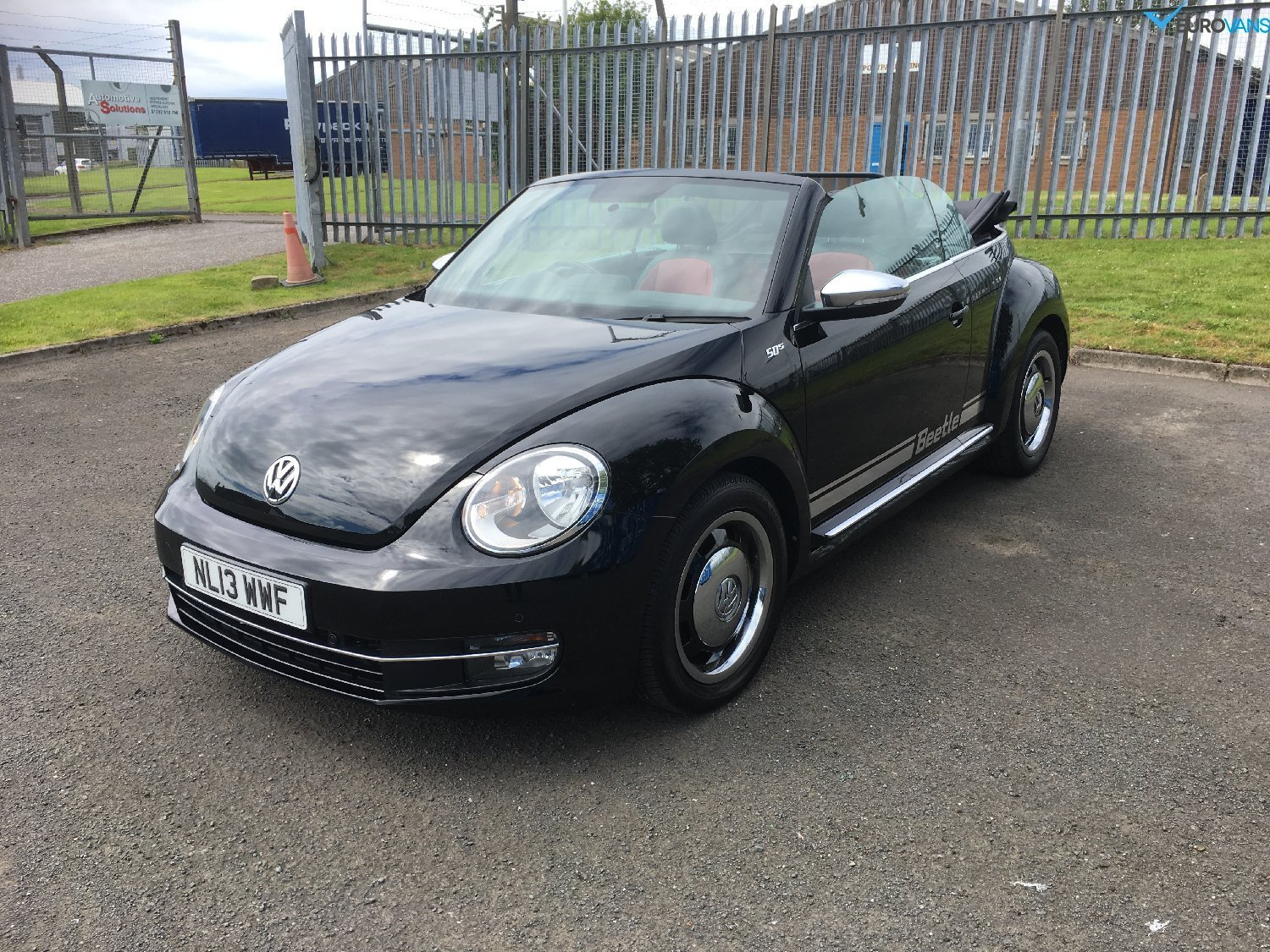 used volkswagen beetle in ayr ayrshire  eurovans ayr ltd
